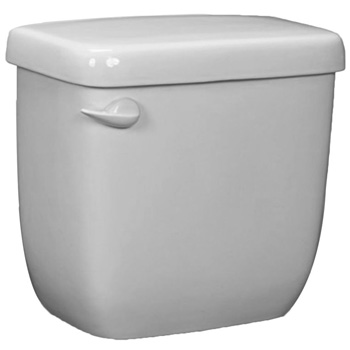 Western Pottery T8ULF-HP Toilet Tank w/3 in Flapper - White