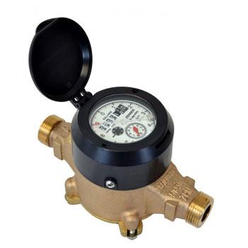 Zenner PPD02CF-XPPB Positive Displacement Meter 5/8 in x 3/4 in No Lead Meter